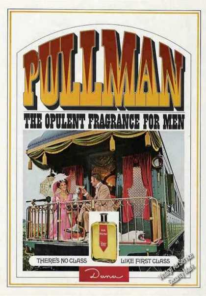 Pulman the Opulent Fragrance for Men Dana (1967)