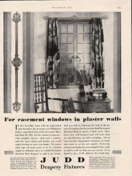 Judd Drapery Fixtures for Your Home (1928)