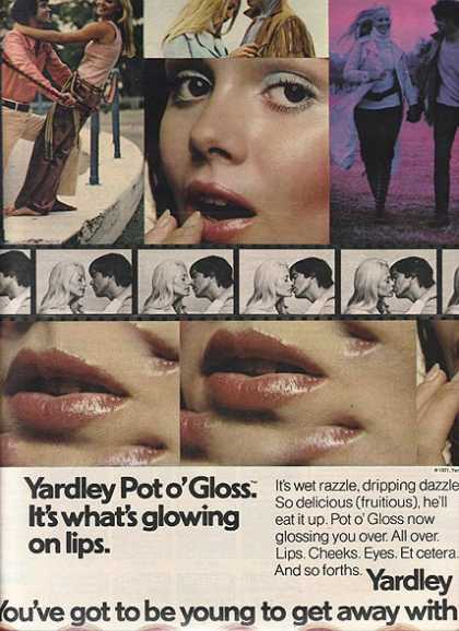 Yardley&#8217;s Pot o&#8217; Gloss (1971)