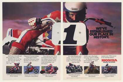 Honda Motorcycle National Racing Champions (1985)