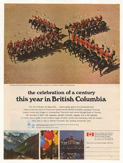 Royal Canadian Mounted Police British Columbia (1966)