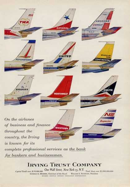 Vintage Airlines And Aircraft Ads Of The 1960s Page 10