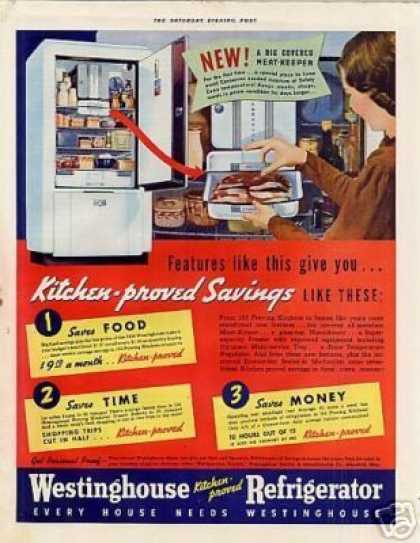 Westinghouse Refrigerator Color (1938)