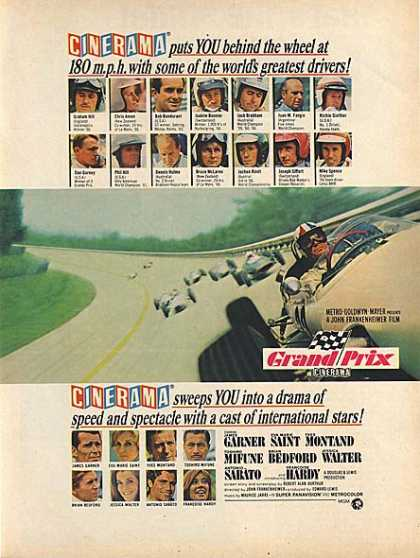 Grand Prix (James Garner, Eva Marie Saint, Yves Montand) (1967)