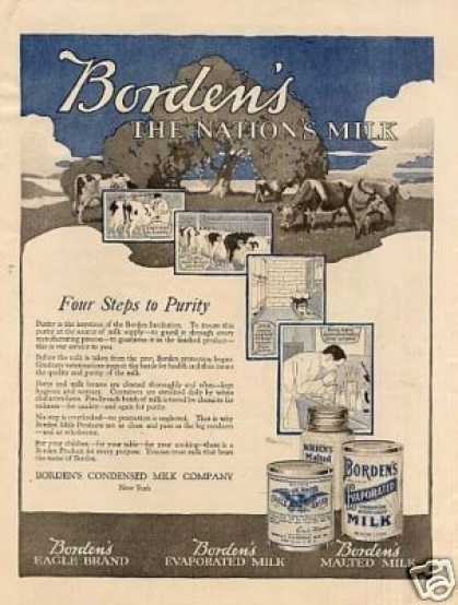 Borden's Condensed Milk (1918)