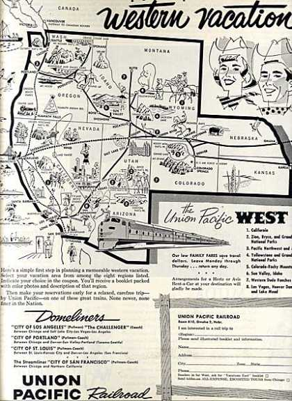 Union Pacific's Western Routes (1960)
