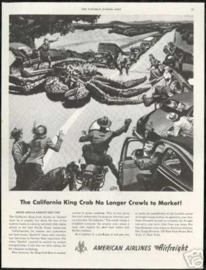 California King Crab American Airlines (1949)