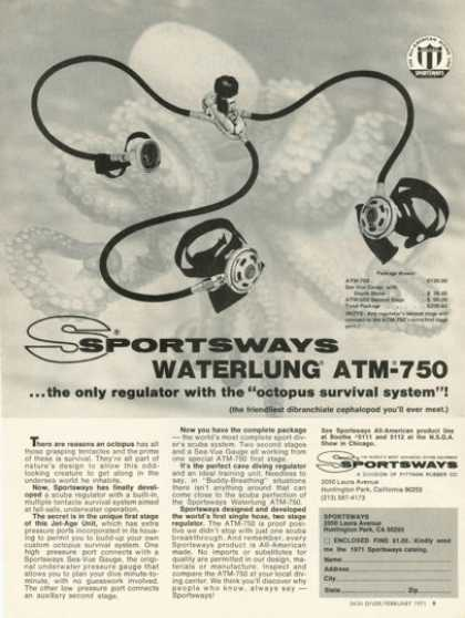 Sportsways Waterlung Atm-750 (1971)