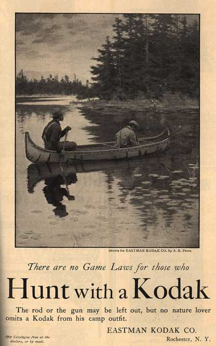 Kodak – Hunt with a Kodak (1905)