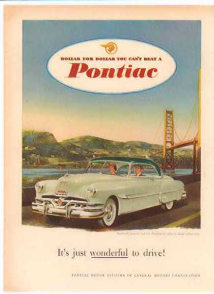 Pontiac Deluxe Coupe Car – Riverside Ride (1949)