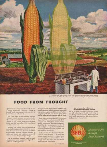 Food From Thought Corn Shell Research (1946)