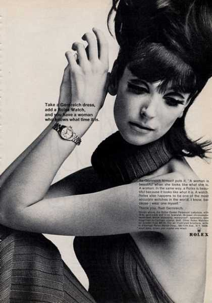 Rolex Watch Gernreich Dress Woman (1965)