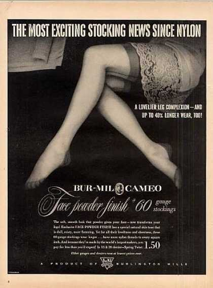 Bur-mil Cameo Stockings (1951)