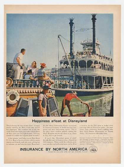 Disneyland Mark Twain Riverboat INA Insurance (1957)