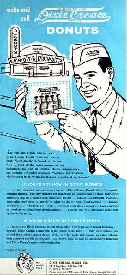 Dixie Cream&#8217;s Donut Company (1960)