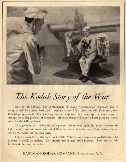 Kodak – The Kodak Story of the War (1917)