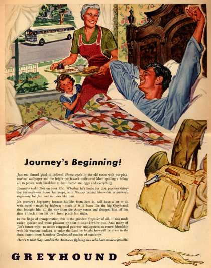 Greyhound – Journey's Beginning (1945)