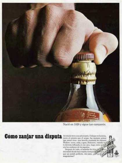 Johnnie Walker Red Spanish Language (1972)