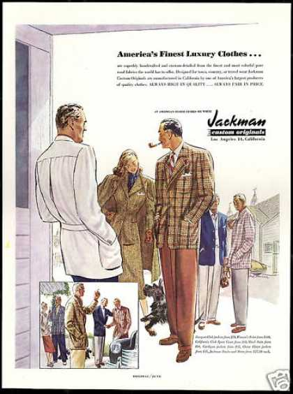 Jackman Mens Fashion Scottish Terrier Dog (1948)