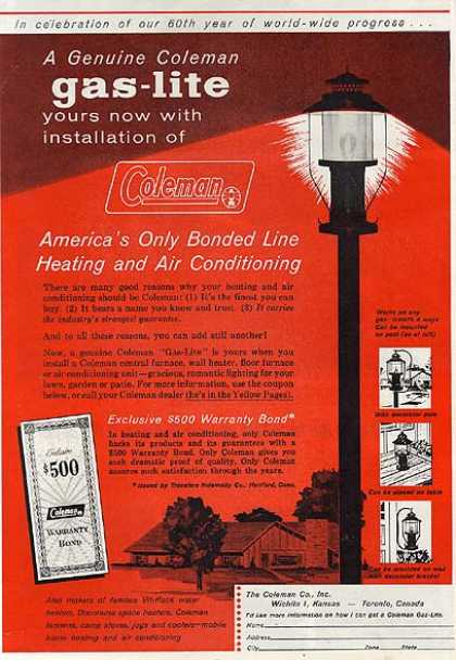 Coleman's Heating and Air Conditioning (1960)