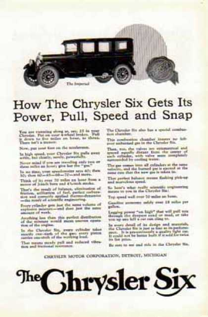 Chrysler Six Car – The Imperial (1924)
