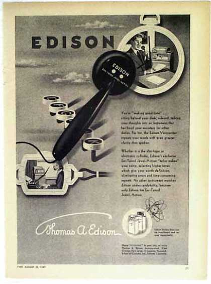 Edison Voicewriter (1949)