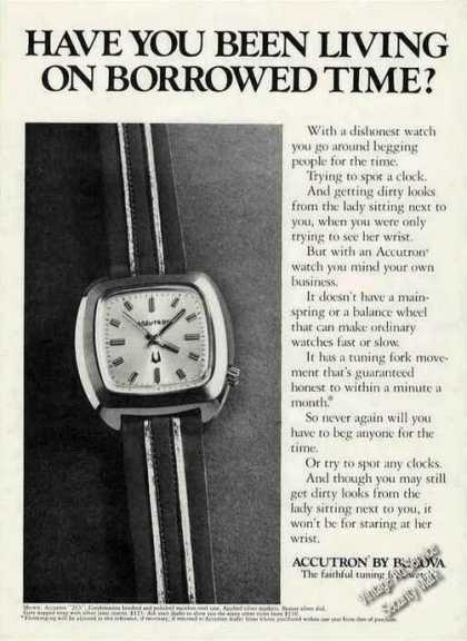 "Accutron ""263"" By Bulova Photo (1972)"