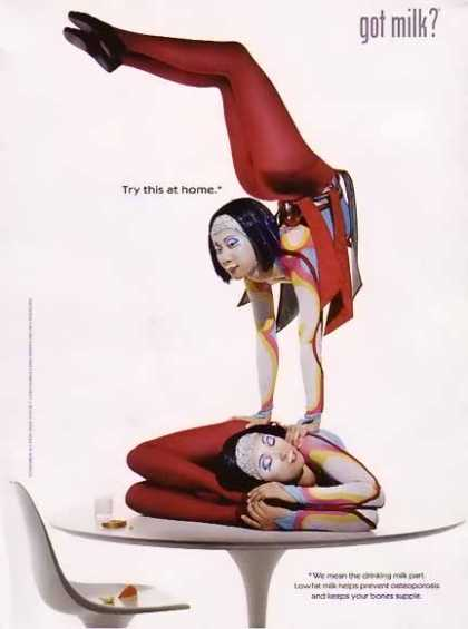 Cirque Du Soleil &#8211; GOT MILK (2002)