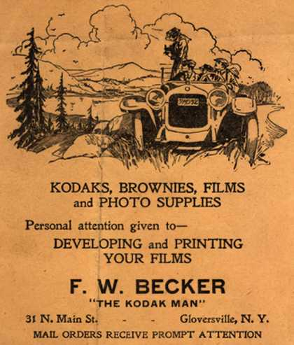"Kodak – F. W. Becker ""The Kodak Man"""