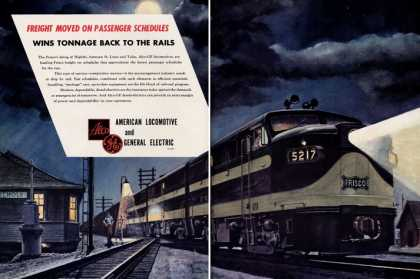 American Locomotive & G E H Fogg Train (1950)
