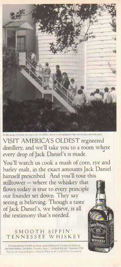 Jack Daniel's – America's Oldest Registered Distillery (1994)