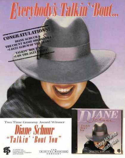 Diane Schuur Talkin' 'bout You Album Promo (1988)