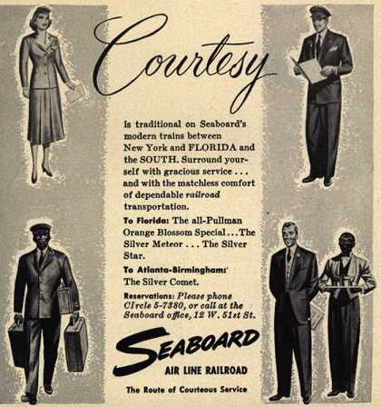 Seaboard Railway's Courtesy – Courtesy (1952)