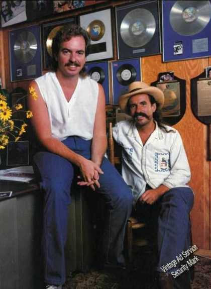 Bellamy Brothers Photo Magazine Feature (1984)