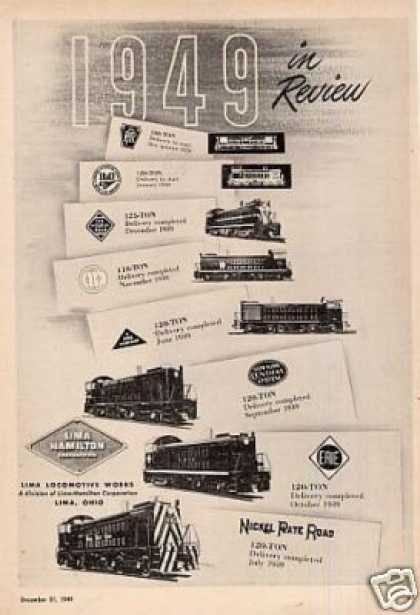 Lima Locomotives (1949)