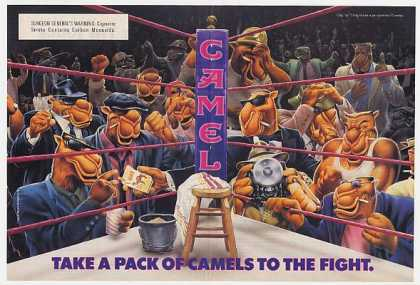 Camel Cigarette Boxing Ring (1991)