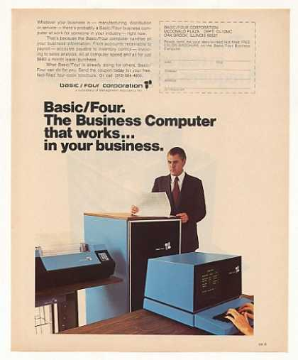 Basic/Four Business Computer (1973)