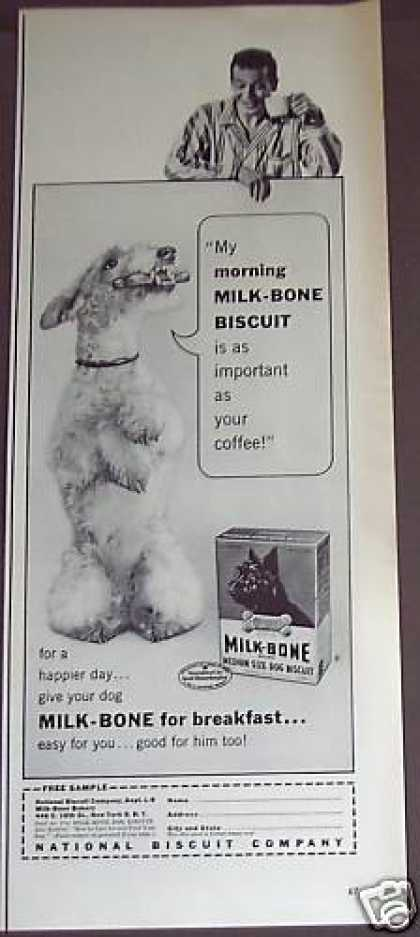 Milk-bone Dog Biscuits Treats (1953)