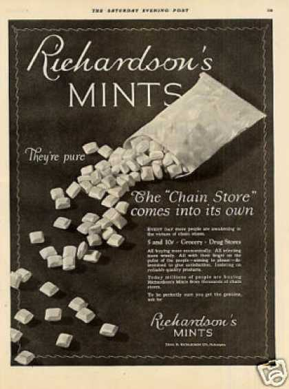 Richardson's Mints (1926)