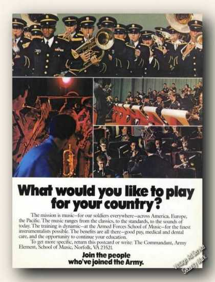 Armed Forces School of Music Recruiting (1978)