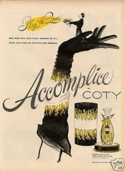 Coty Accomplice Perfume (1954)