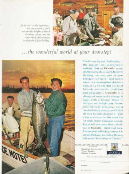 Canadian Salmon Canada Travel Fishing (1961)