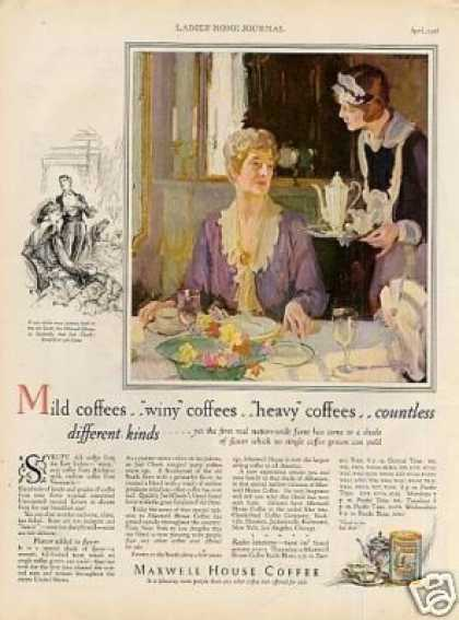 Maxwell House Coffee (1928)