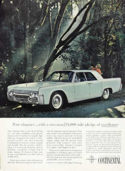 Lincoln Continental Suicide Doors (1961)