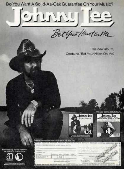"Johnny Lee ""Bet Your Heart On Me"" Country Music (1981)"