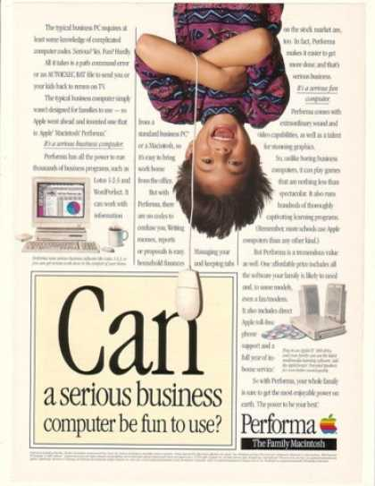 Apple Macintosh Performa Business Computer Fun (1993)