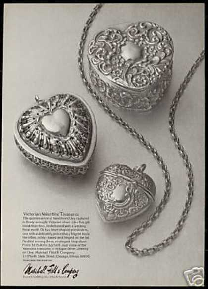 Antique Silver Jewelry One Marshall Field & Co (1975)