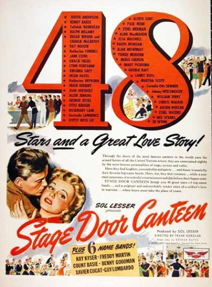 """Stage Door Canteen"" (1943)"