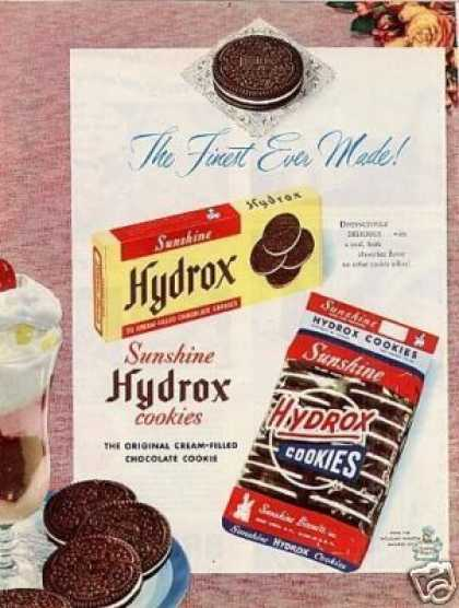Sunshine Hydrox Cookies (1950)