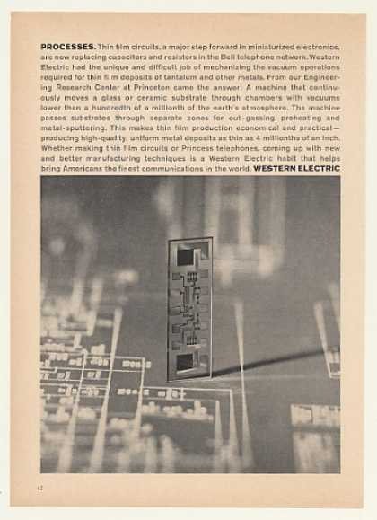 Bell Phone Western Electric Thin Film Circuit (1964)